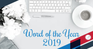 word of the year 2019 - choices