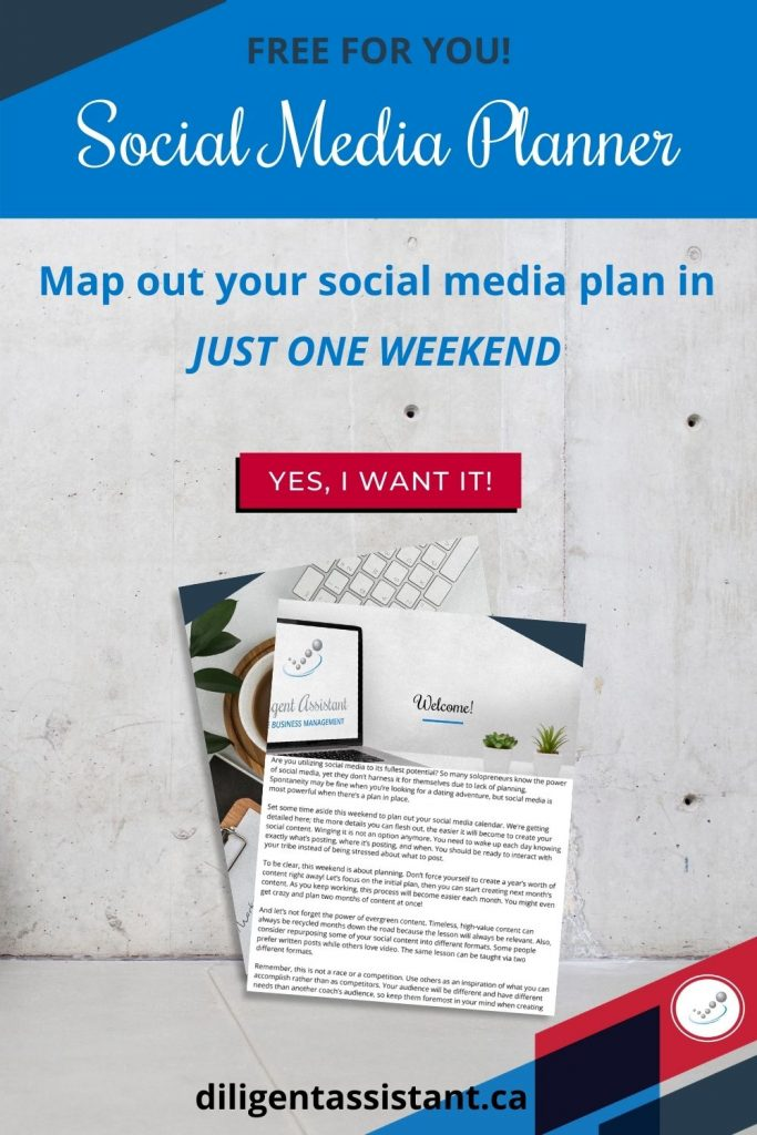 Plan effective social media posts