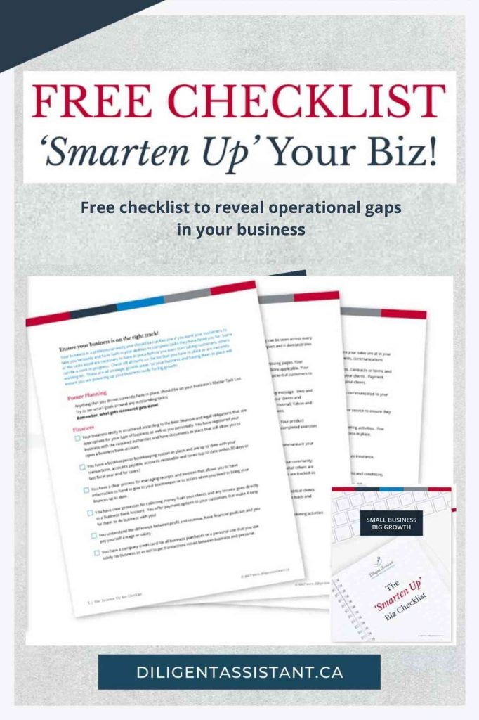 Free checklist to reveal operational gaps in your business