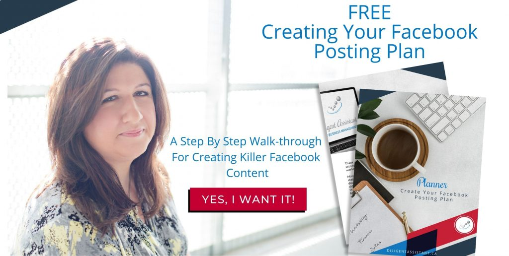Create your Facebook Posting Plan
